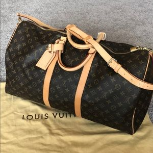 Louis Vuitton Keepall 55 in great condition!!